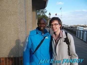 Wilson Kipsang  signing autographs west end london 33
