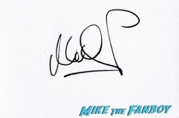 Mark Heaps signing autographs west end london 4