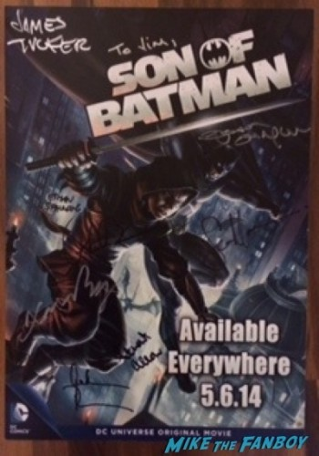 son of batman autograph signing wonderon 2014 jason O'Mara rare 4