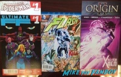 new comic books son of batman autograph signing wonderon 2014 jason O'Mara rare 5