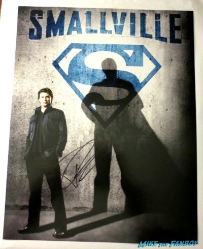 tom welling fan photo signing autographs selfie hot smalville rare 3