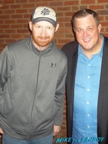 Billy Gardell fan photo signing autographs for fans      1
