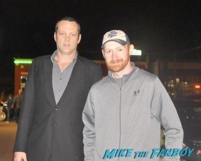 vince vaughn fan photo signing autographs for fans      2