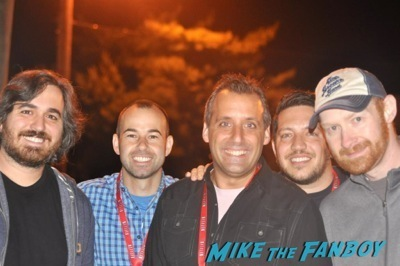 impractical Jokers fan photo signing autographs for fans      3