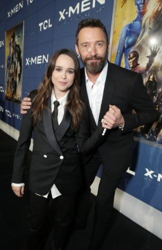Ellen Page, Hugh Jackman