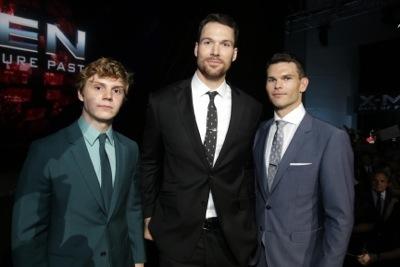 Evan Peters, Daniel Cudmore, Josh Helman