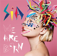 sai we are born signed autograph cd cover