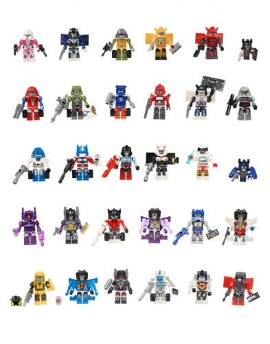 hasbro class of 1984 transformers set