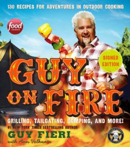 guy on fire guy fieri signed autograph book rare