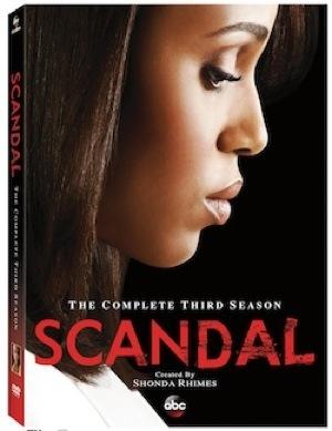 scandal season three  blu ray cover