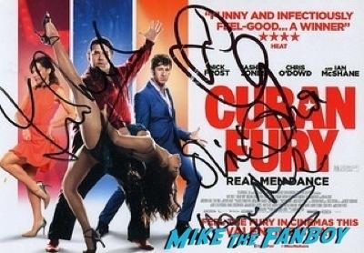 Cuban Fury signed autograph poster premiere uk rashida jones fan photo autograph   13