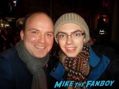 Rory Kinnear fan photo signed Cuban Fury premiere uk rashida jones fan photo autograph   8