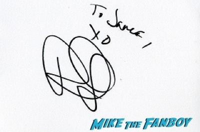 Rashida Jones signed autograph Cuban Fury premiere uk rashida jones fan photo autograph   19