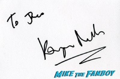 Kayvan Novak fan photo signing autographs hot Cuban Fury premiere uk rashida jones fan photo autograph   11