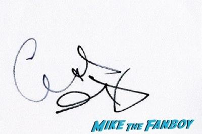 Chris O'Dowd signed autograph Cuban Fury premiere uk rashida jones fan photo autograph   9