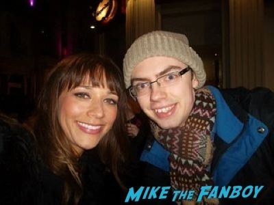 Rashida Jones signed autograph Cuban Fury premiere uk rashida jones fan photo autograph 19