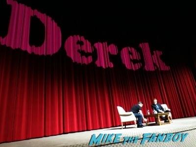 Derek TV Academy Q and A ricky gervais signing autographs conan o'brien    1