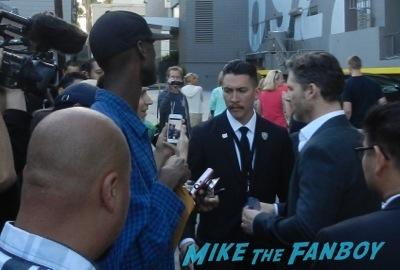 Eric  Bana Signing Autographs Jimmy Kimmel Live 2014  hot   5