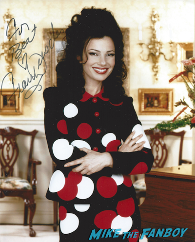 Fran Drescher signed autograph photo rare 1
