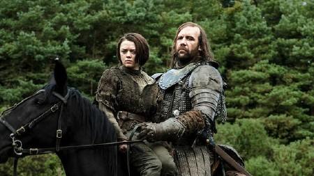 GoT - Arya and Hound