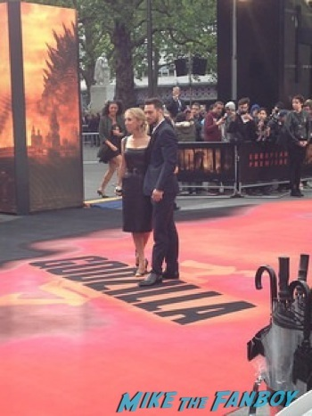 Godzilla UK Premiere bryan cranston aaron taylor johnson       16