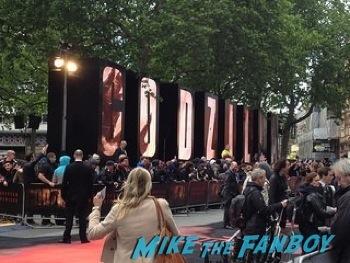 Godzilla UK Premiere bryan cranston aaron taylor johnson       13