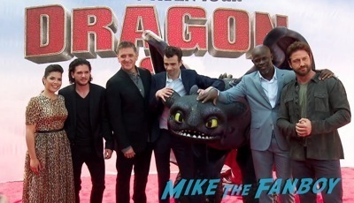 How To Train Your Dragon 2 premiere Gerard Butler     20