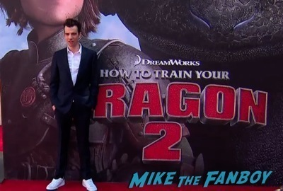 How To Train Your Dragon 2 premiere Gerard Butler     3