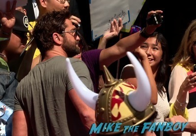 How To Train Your Dragon 2 premiere Gerard Butler     8