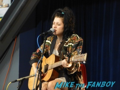 Kitten's Chloe Chaidez live in concert amoeba records signing autographs   9