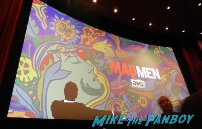 Mad Men TV Academy Q and a jon hamm signing autographs   1