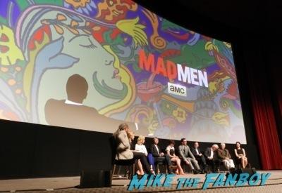 Mad Men TV Academy Q and a jon hamm signing autographs   1Mad Men TV Academy Q and a jon hamm signing autographs   1