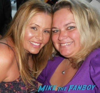Nicole Eggert selfie now 2014 fan photo
