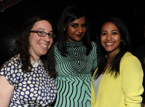 FOX'S GIRLS NIGHT OUT: Mindy Kaling (THE MINDY PROJECT) with fans during the FOX'S GIRLS NIGHT OUT Q&A AND CHAMPAGNE BAR RECEPTION Monday, June 9th at the Leonard H. Goldson THeatre in North Hollywood, CA.  CR: Frank Micelotta/FOX