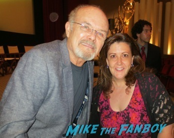kurtwood smith fan photo selfie Resurrection q and a tv academy kurtwood smith frances fisher   8