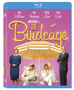 the birdcage blu ray cover