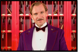 Gustave H. (Ralph Fiennes) the grand budapest hotel