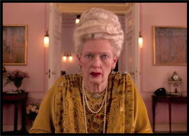 Madame D (Tilda Swinton) the grand budapest hotel