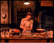 Agatha (Saoirse Ronan) the grand budapest hotel