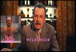 Author (Jude Law/Tom Wilkinson) the grand budapest hotel