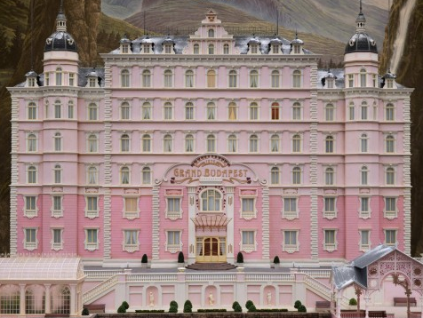 The grand budapest hotel poster art