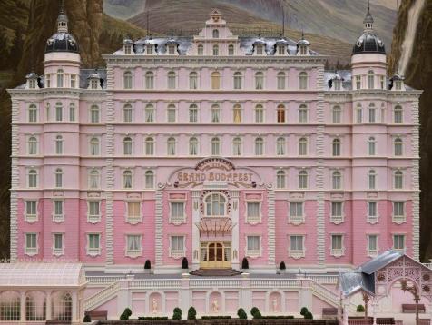 The grand budapest hotel poster art