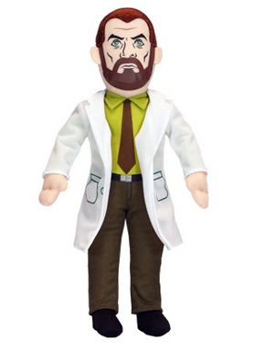 """Archer Krieger Talking Autographed Plush SDCC 2014  """"Holy S********S! Talking Autographed Archer Plushies!""""   Yes, we know it's a little coarse, but there is no other way to describe the awesomeness that is Factory Entertainment's next Convention Exclusive! How about Dr. Krieger from the hit FX series """"Archer"""" in adorable plush form?! Squeeze his tummy and he utters charming phrases... oh who are we kidding?"""