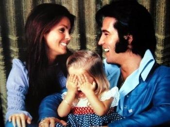priscilla presley elvis family photo