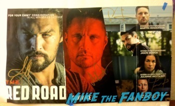 The Red Road  signed autograph poster TV Academy Q and A Jason Mamoa  hot     11