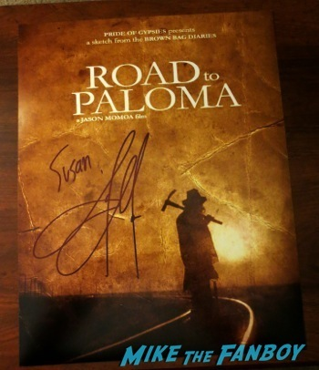 road to palmoa  signed autograph poster TV Academy Q and A Jason Mamoa  hot     11