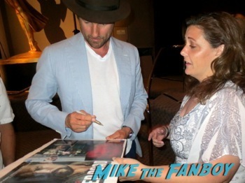 martin Henderson signing autographs The Red Road TV Academy Q and A Jason Mamoa  hot     6