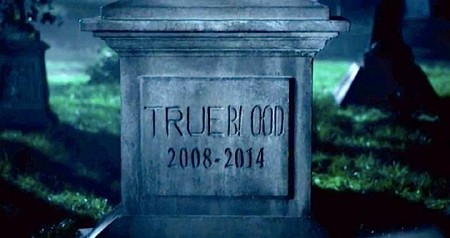 True Blood grave stone
