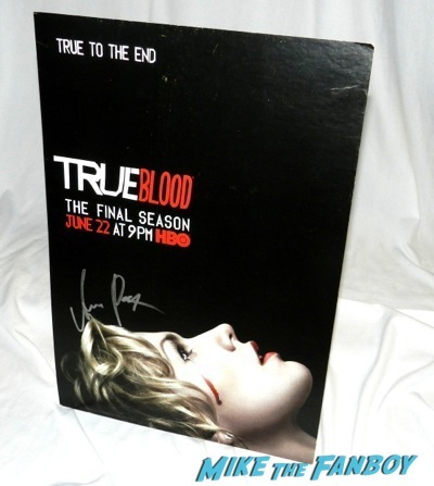 true blood signed season 7 counter standee anna paquin