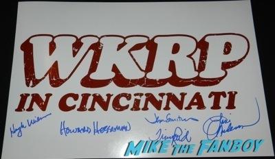 WKRP In Cincinatti fan photo signed autograph rare paley center reunion Loni anderson   48